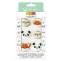 Scrapcooking - Décorations en sucre animaux, 6 pièces