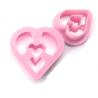 Ibili - Doughnut (donut) heart & biscuit ring cutter