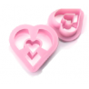 Ibili - Emporte-pièce coeur pour doughnut & biscuits