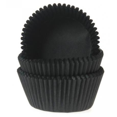 Baking Cups black, 50 pieces
