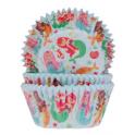 Caissettes à cupcakes sirène, 50 pièces