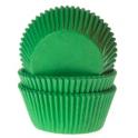 Caissettes à cupcakes vert gazon, 50 pièces