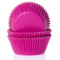 Caissettes à cupcakes rose fuchsia, 50 pièces