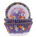 Baking Cups space, 50 pieces