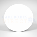 Cake Board white  cm 20 diameter, 1 mm thick