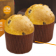 Decora - Paper mold for mini panettone (100 g), 12 pièces