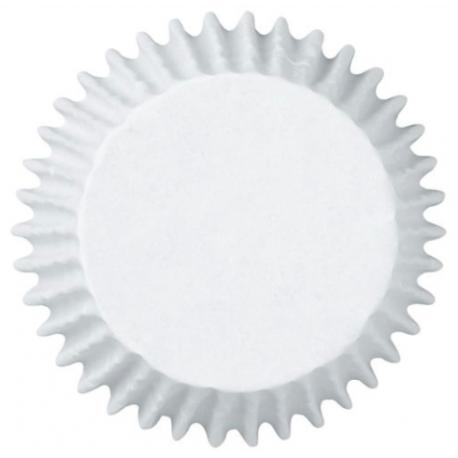 Caissettes à cupcakes blanches JUMBO, 60 pièces