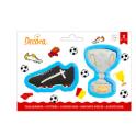 Decora - Cookie Cutter trophy & shoe, set of 2