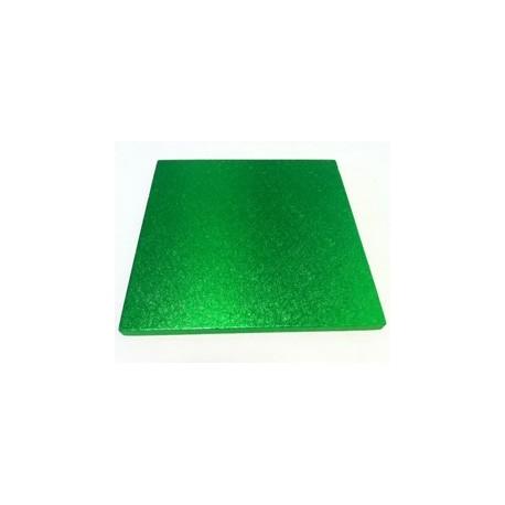 Planche vert clair carrée, 30 x 30 cm, épaisseur 1.2 cm