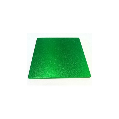 Square Cake Board Light green cm 30 x 30, 12 mm thick