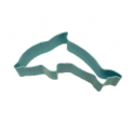 Cookie Cutter dolphin bleu, 11.4 cm