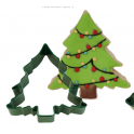 Cookie Cutter Green Christmas Tree, 8.9 cm