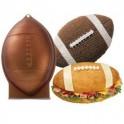 Wilton - Moule à gâteau ballon de rugby en aluminium