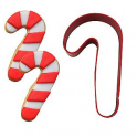 Cookie Cutter Red Candy cane, 8.5 cm