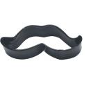 Cookie Cutter Moustache black, 10 cm