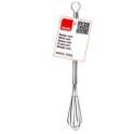 Ibili - Stainless steel mini whisk, 15 cm