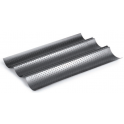 Ibili - Perforated Baguette Tray, 38x24 cm
