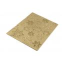 Silikomart - Silicon Texturmatten Schneeflocken  Frozen, 250 x 185 mm