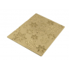 Silikomart - Tapis relief flocons Frozen, 250 x 185 mm