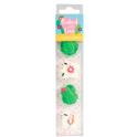 Baked with Love Icing Decorations llama & cactus, 12 pieces