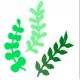 PME - Emporte-pièce feuilles couronne d'eucalyptus, set de 3