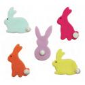 AH -  Icing Decorations bunnies, 5 pieces