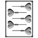 CK - Moule à sucette coeur, env. 5 cm