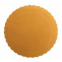 Gold Corrugated board, 20 cm