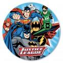 Dekora - Disque en azyme Justice League,  20 cm