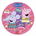 Dekora - Disque déco Peppa Pig,  20 cm