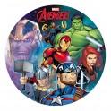 Dekora - Disque déco Avengers,  20 cm