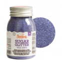 Decora Sugar purple (sanding sugar), 100 g