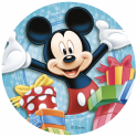 Dekora - Disque déco Mickey Mouse,  20 cm