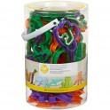 Wilton - emporte-pièce animaux en plastique, set de 50