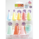 ScrapCooking - Tip set for Icing tube, 4 pieces