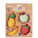 Decora - Cookie Cutter fruits, set of 4