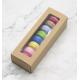 Boîte à macarons kraft, set de 3