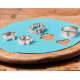 Funcakes Baby blue Ready Rolled Icing Disc, 430 g