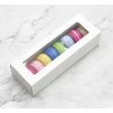 Macarons Box white, set of 3