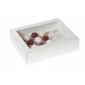 Boîte à cupcake mini blanche, pour 24 pièces, 2 pièces