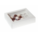 Cupcakes Box white, Mini, 24-cavity, 2 pieces