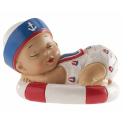 Figurine bébé petit marin, 1 pièce