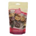 Funcakes - Backfeste Schokoladenstücke, Bitter, 350 g