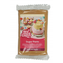 "Funcakes pâte à sucre brun beige ""Teddy bear brown"", 250 g"