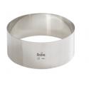 Decora - Cercle à dessert, 14 cm diamètre, 6 cm de haut
