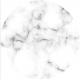 Planche effet marbre ronde, diamètre 25 cm, épaisseur 4 mm