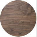 Planche effet bois ronde, diamètre 25 cm, épaisseur 4 mm