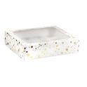 AH - Cupcake Schachtel für 12 cupcakes mit goldene Sterne, 1 Stück