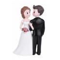 """Figurine mariés """"Regards croisés"""""""