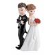 "Wedding cake topper couple ""Posing"""